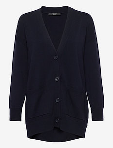 RENZA - swetry rozpinane - ultramarine