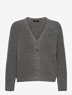 BERBICE - cardigans - dark grey