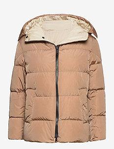ROSATEA - down- & padded jackets - camel