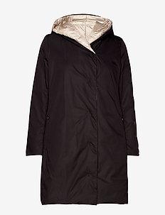 ALI - wyściełane płaszcze - black
