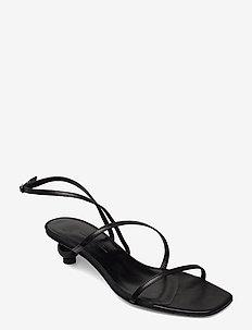 MIGLIO - højhælede sandaler - black