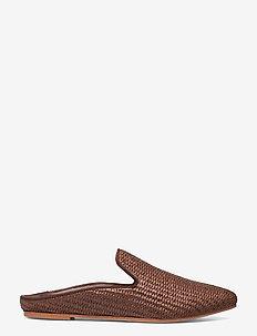 TELA - schoenen - tobacco