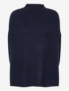 ANNICA - ponchos & capes - ultramarine