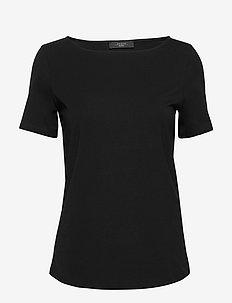 MULTIC - basic t-shirts - black