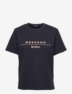 NAVETTA - t-shirts - navy