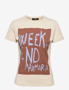 RANA - t-shirts - ivory