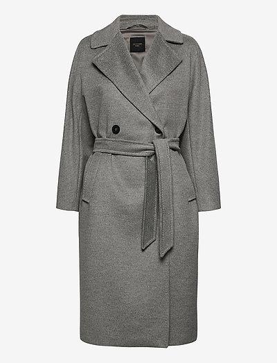 RESINA - trenchcoats - light grey