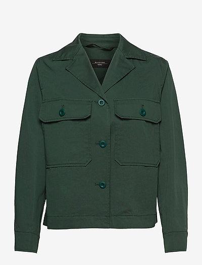 ABISSI - vestes utilitaires - dark green