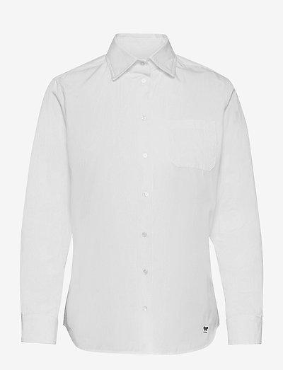 ERSILIA - overhemden met lange mouwen - white