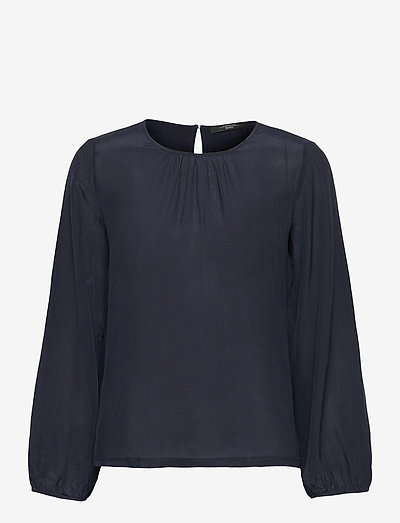SCALATA - blouses met lange mouwen - navy