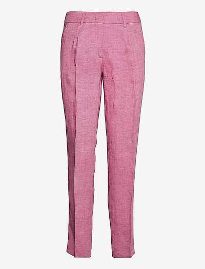 MANNA - pantalons droits - mauve