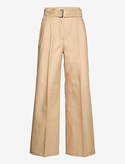 ALACRE - pantalons larges - camel