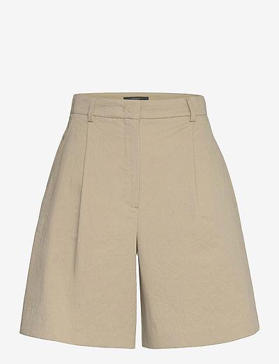 VISINO - casual shorts - clay