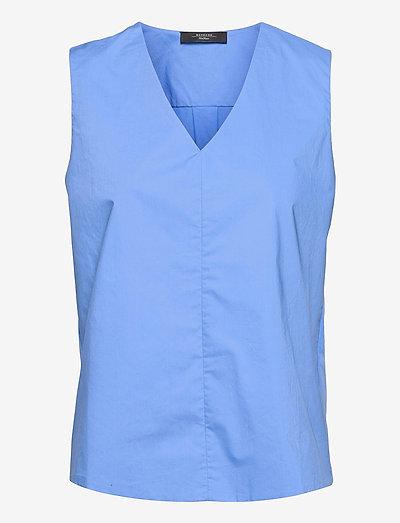 UBINO - blouses sans manches - light blue