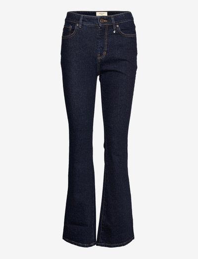 MEDEA - flared jeans - midnightblue
