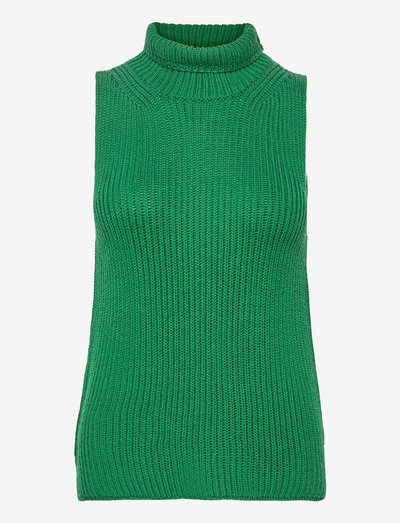 JOHN - knitted vests - green