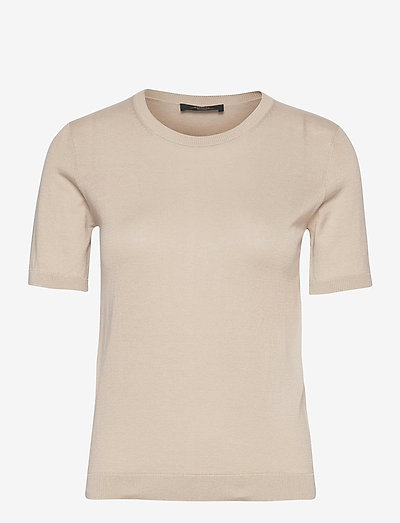 CAIRO - gebreide t-shirts - sand