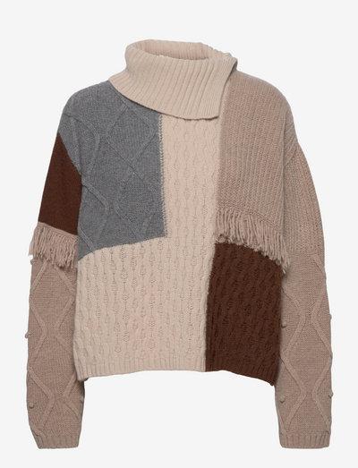 VISINO - sweaters - vanilla