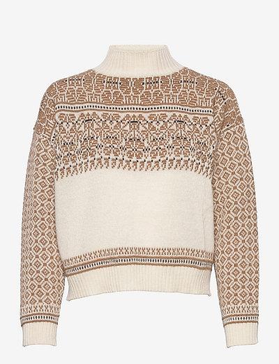 EZOR - sweaters - milk