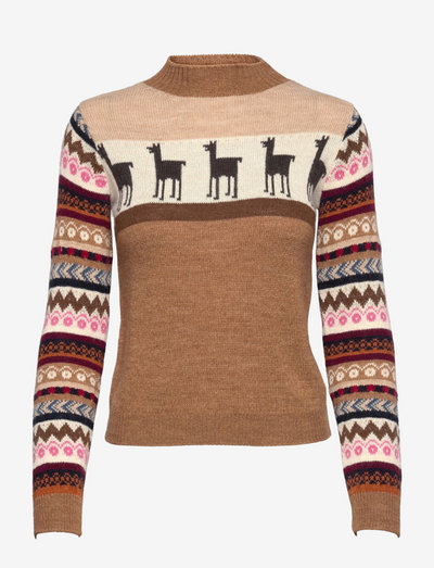 HOT - sweaters - camel