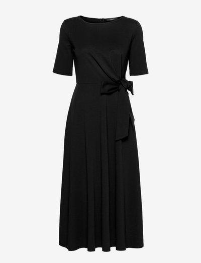 GERANIO - summer dresses - black