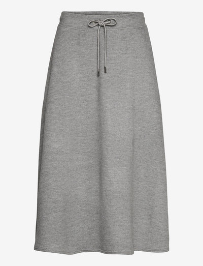 EDUCATA - midi skirts - light grey