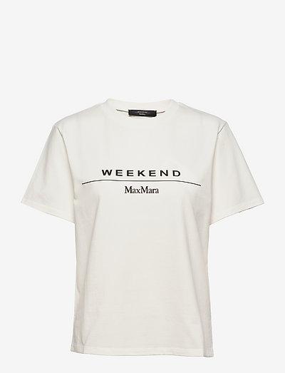 NAVETTA - t-shirts & tops - white