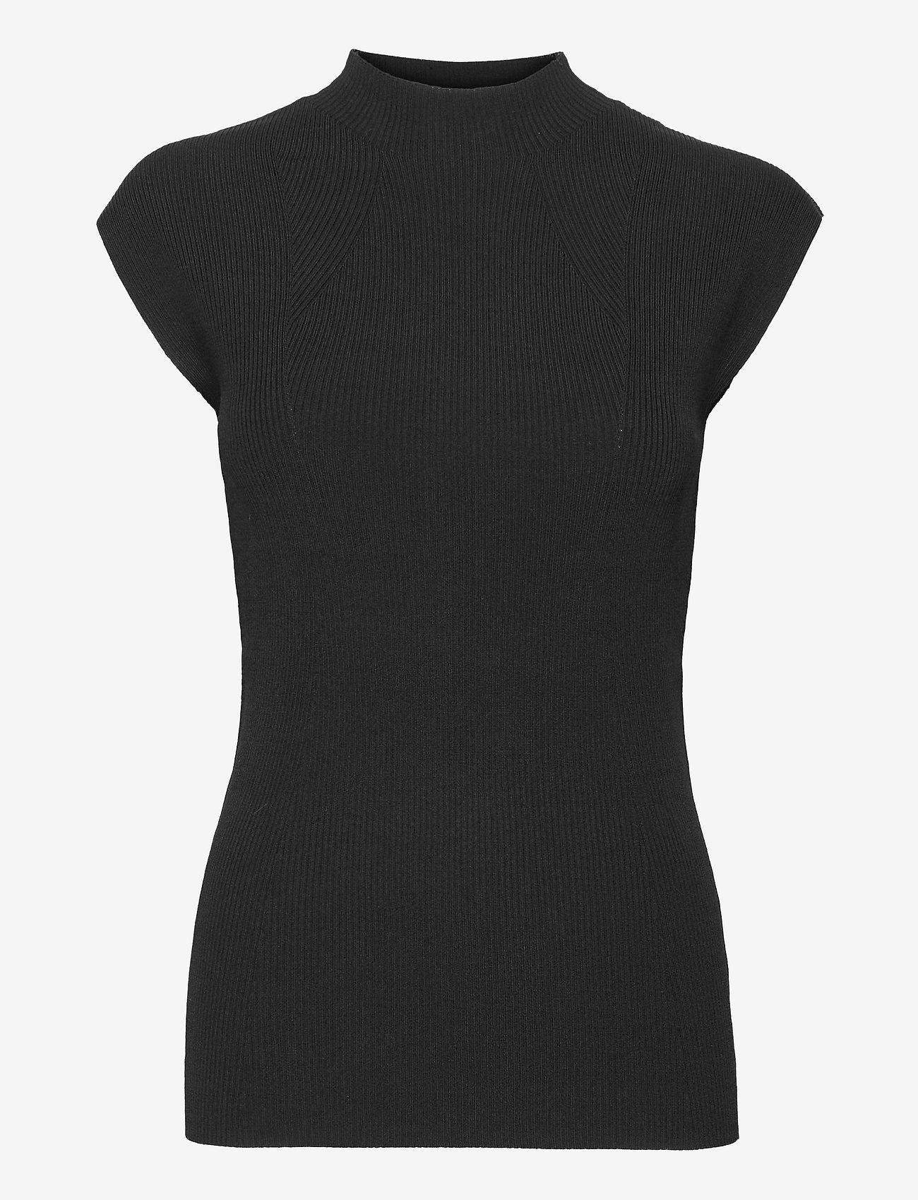 Wera - LENA - strikkede toppe - black - 1
