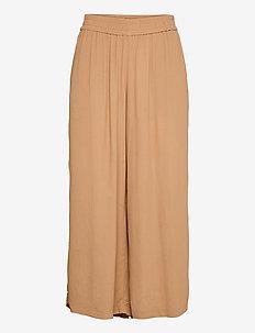 DIMA - bukser med brede ben - honey