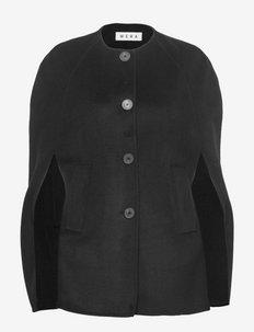 MILOU - ponchos & capes - black