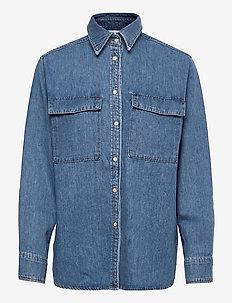MUSE - jeanshemden - denim blue