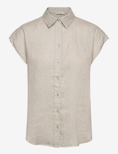 SABINA - kortærmede skjorter - pumice stone