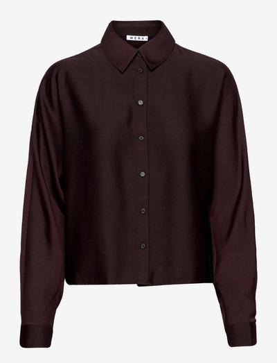 AMANDA - denimskjorter - deep red