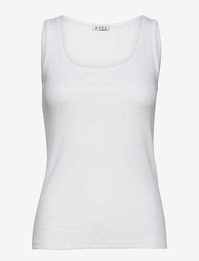 SARAH - linnen - white
