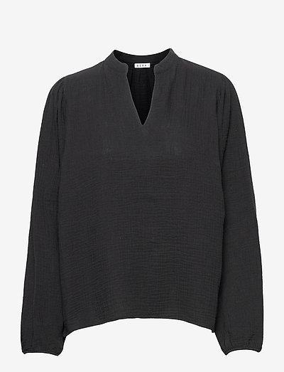 ELBA - langærmede bluser - black