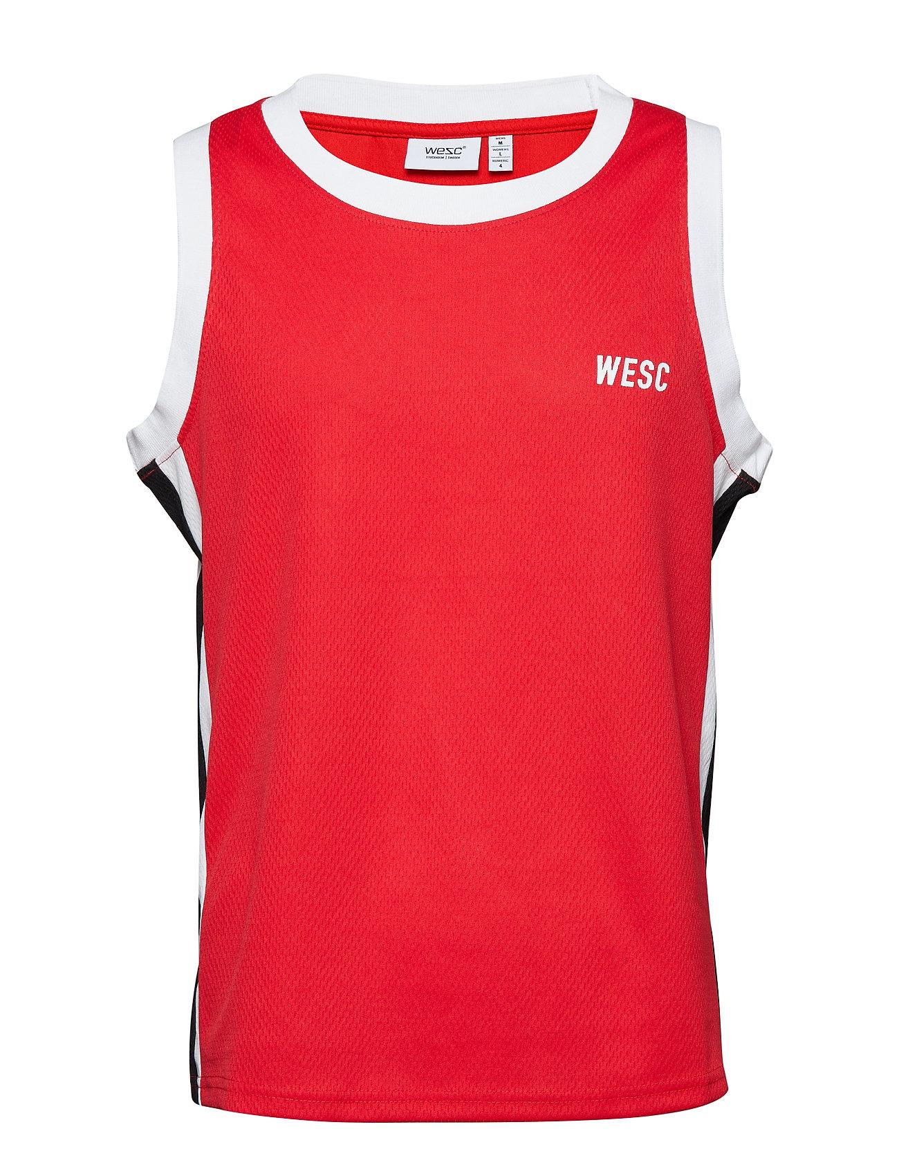 WeSC B-BALL TANK - BLOOD RED