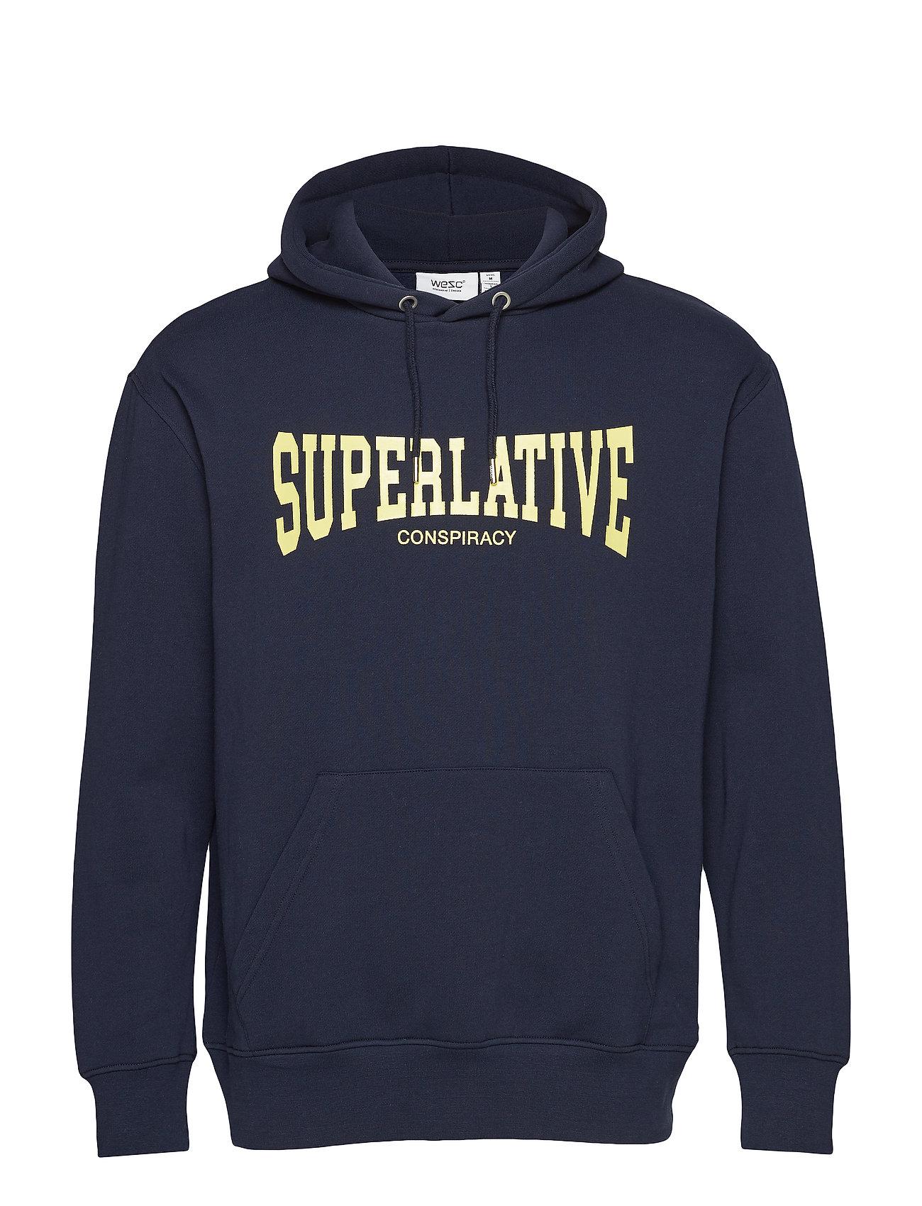 WeSC 90s MIKE SUPERLATIVE - NAVY BLAZER