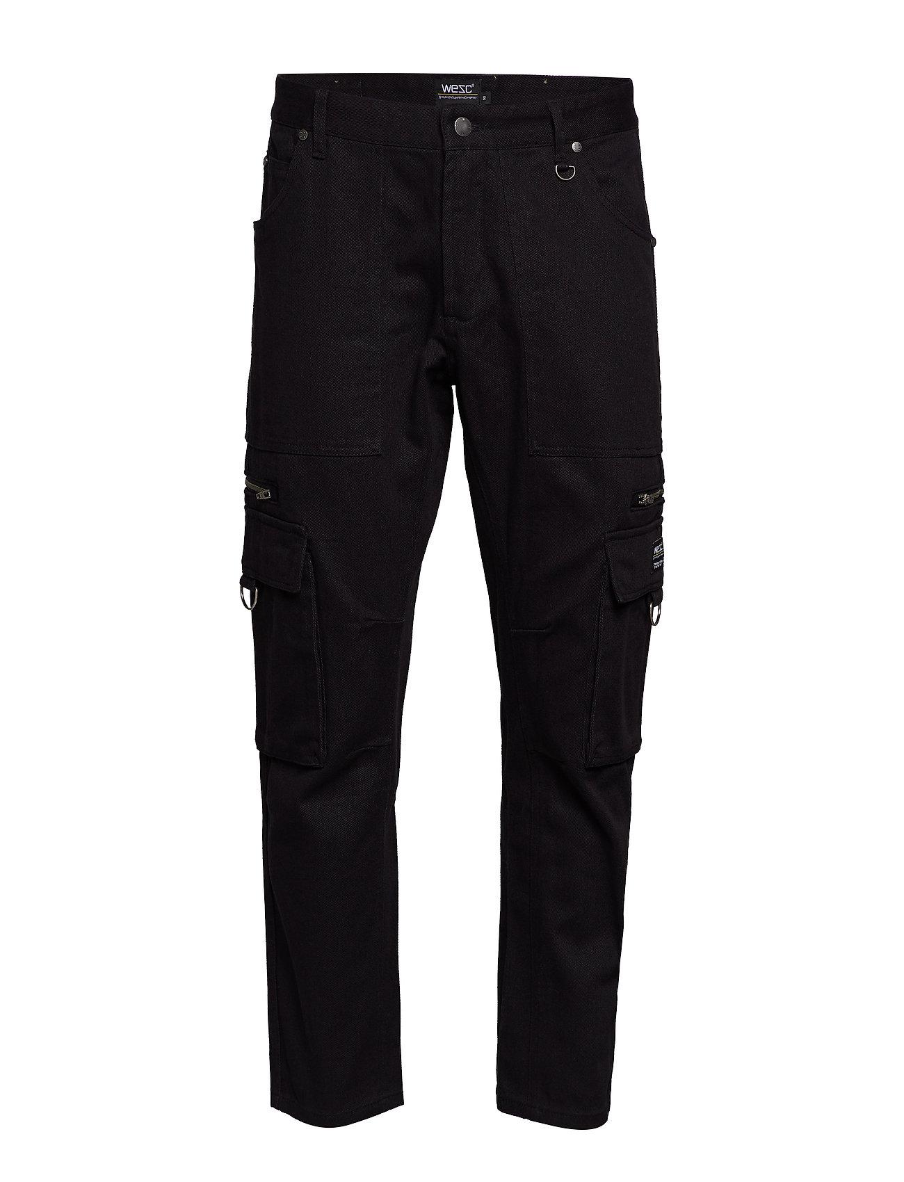 WeSC Tapered Utility Pant - BLACK