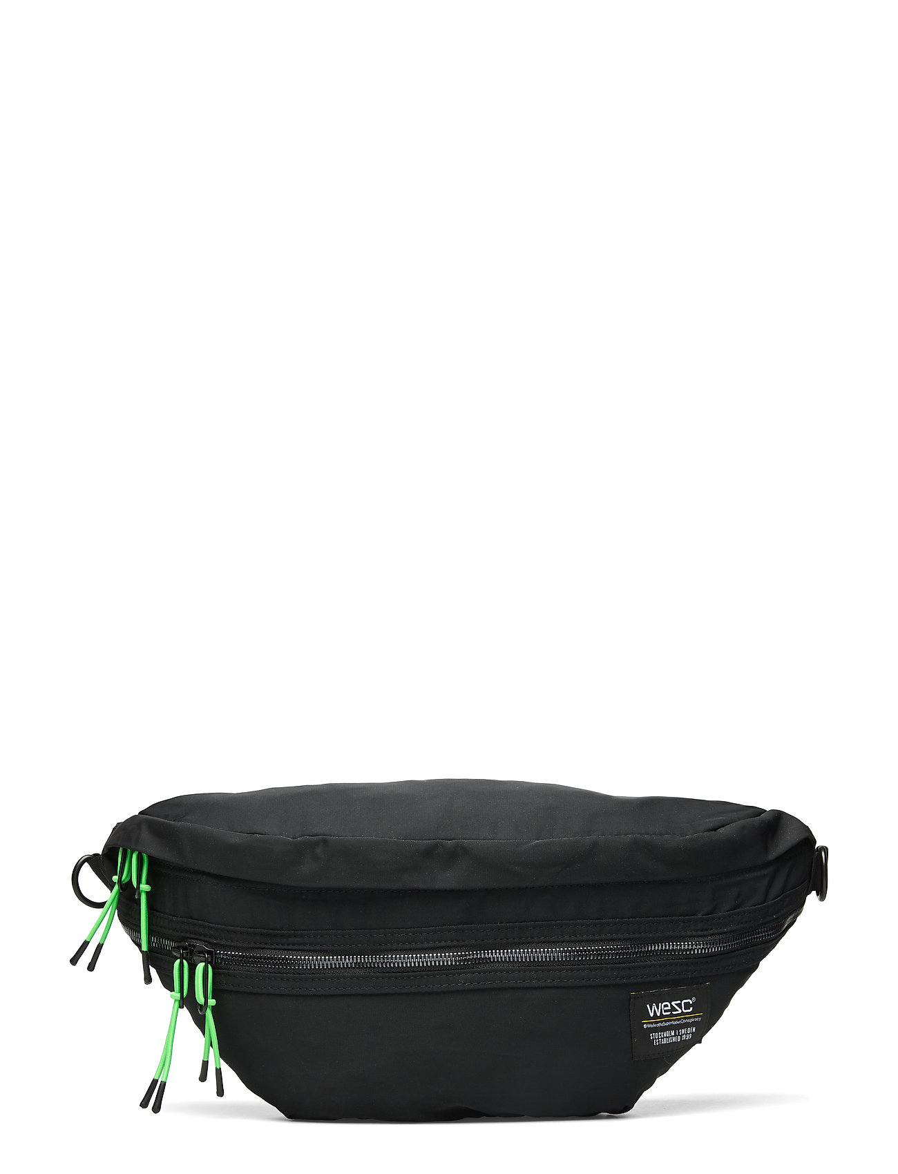 WeSC Nylon XL Belt Bag - BLACK