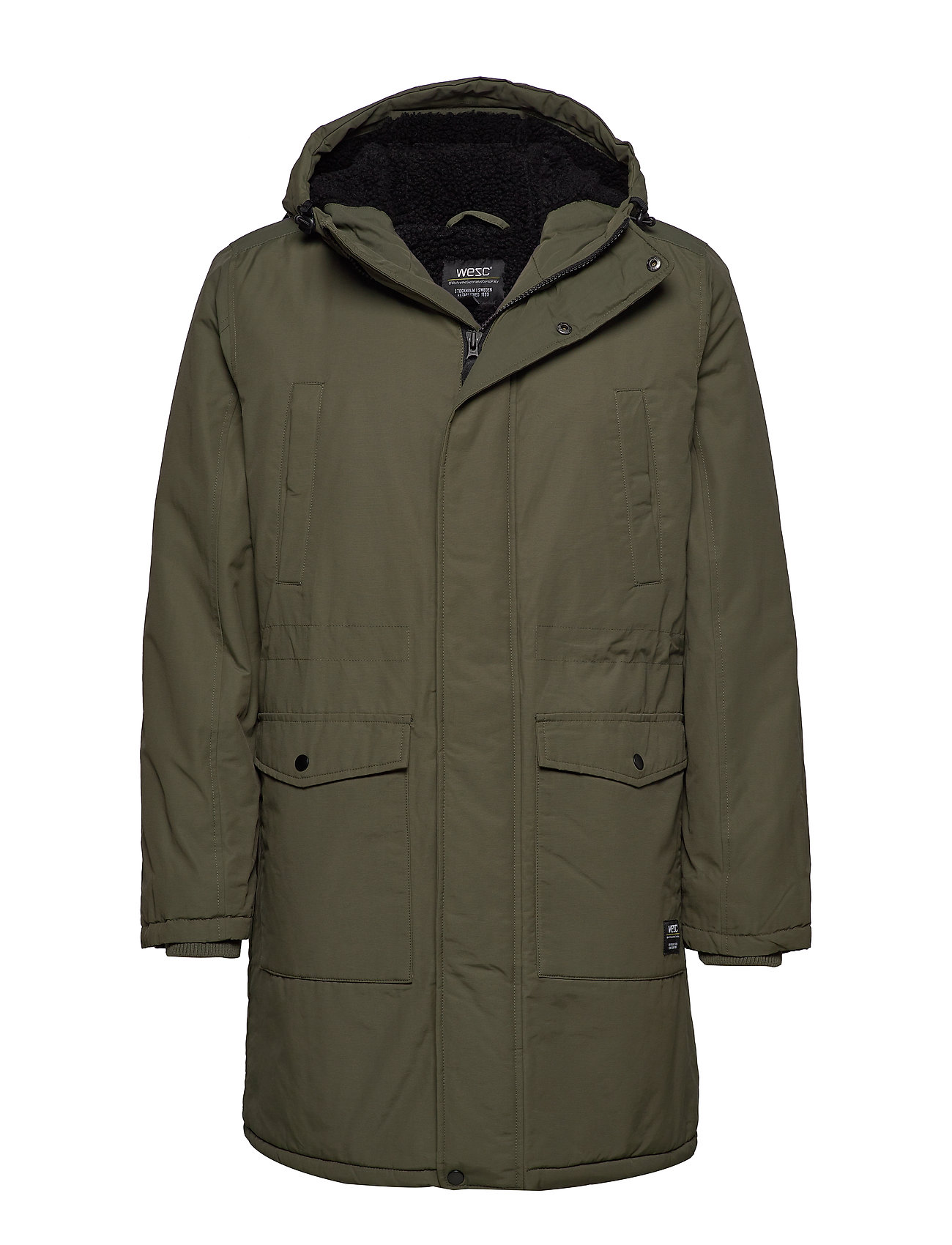 WeSC WINTER PARKA - OLIVE NIGHT