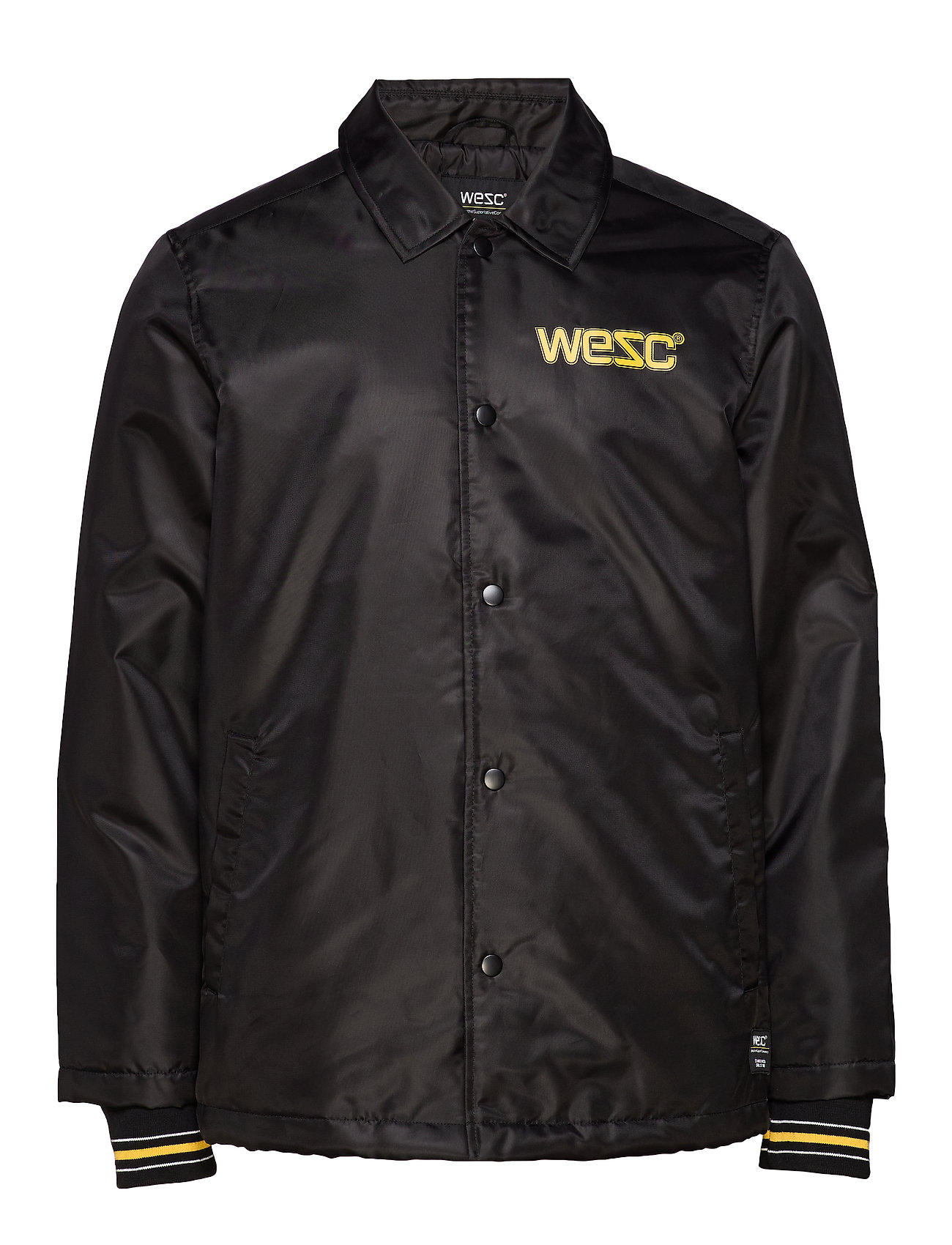WeSC Cuffed Coach 1999 Jacket - BLACK