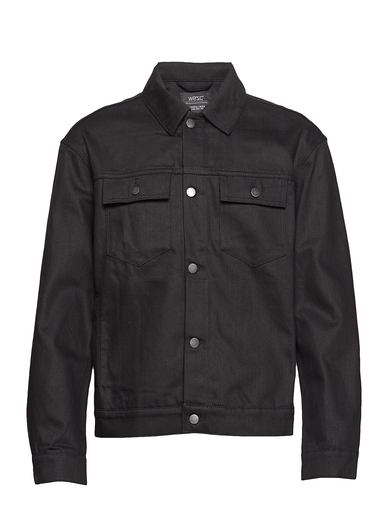 WeSC Denim Jacket Stay Black - STAY BLACK