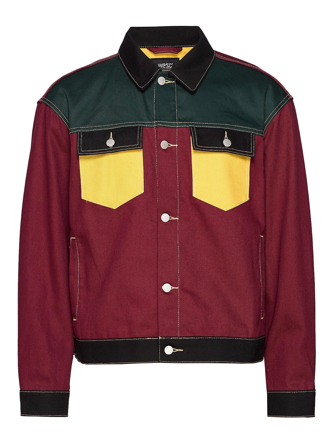 WeSC Denim Jacket Colorblock - ASSORTED