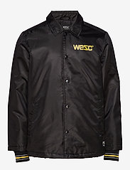 WeSC - Cuffed Coach 1999 Jacket - leichte jacken - black - 0