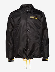 WeSC - Cuffed Coach 1999 Jacket - leichte jacken - black - 1