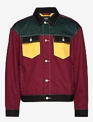 WeSC - Denim Jacket Colorblock - jeansjacken - assorted - 0