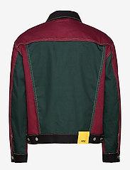 WeSC - Denim Jacket Colorblock - jeansjacken - assorted - 1