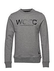 WeSC SWEATSHIRT - GREY