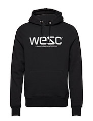 WeSC HOODIE - BLACK