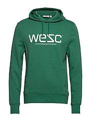 WeSC HOODIE - CAMPING GREEN